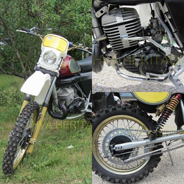 husqvarna.WR430.1982. restauration hva.heritage